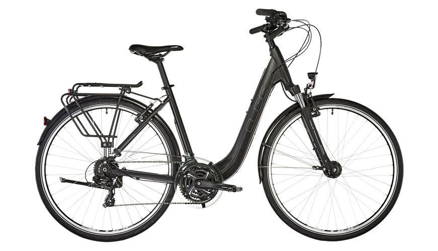 Cube Touring toerfiets Easy Entry zwart